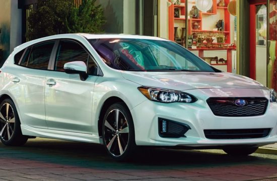 2019 Subaru Impreza 1 550x360 at 2019 Subaru Impreza Just 100 Bucks Dearer Than Last Year