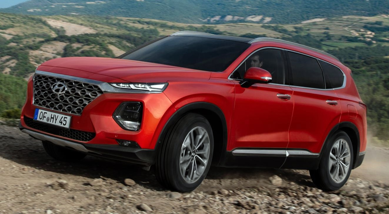 2019 hyundai santa fe suv priced from 33 425 in the uk. Black Bedroom Furniture Sets. Home Design Ideas