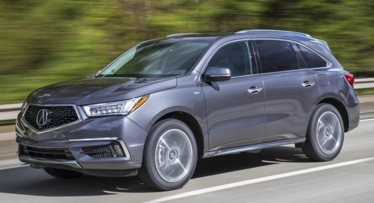 2019 Acura MDX Sport Hybrid 3 730x396 at 2019 Acura MDX Sport Hybrid   Pricing and Specs