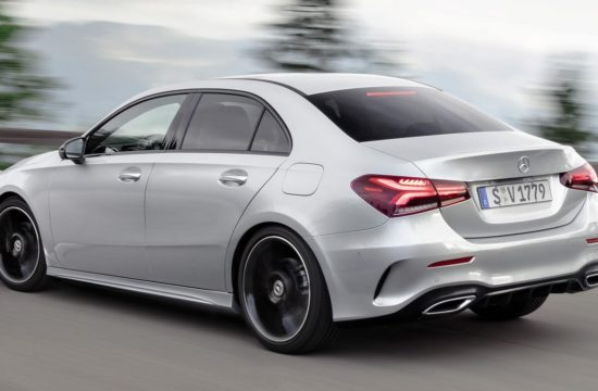 2020 Mercedes A Class Sedan 1 550x360 at 2020 Mercedes A Class Sedan Unveiled (Global Version)