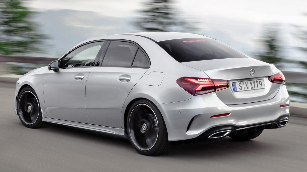 2020 Mercedes A Class Sedan Unveiled Global Version