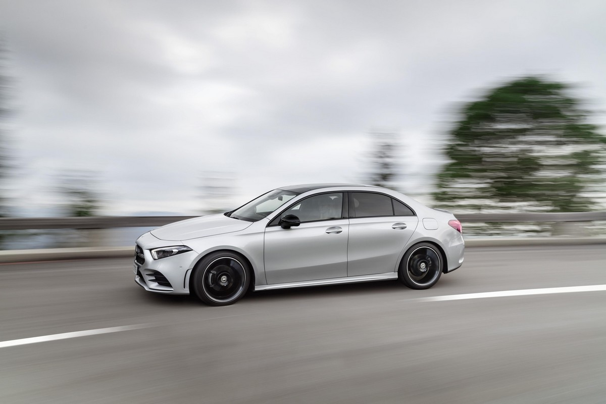 2020 Mercedes A Class Saloon Priced From 30 916 Eur