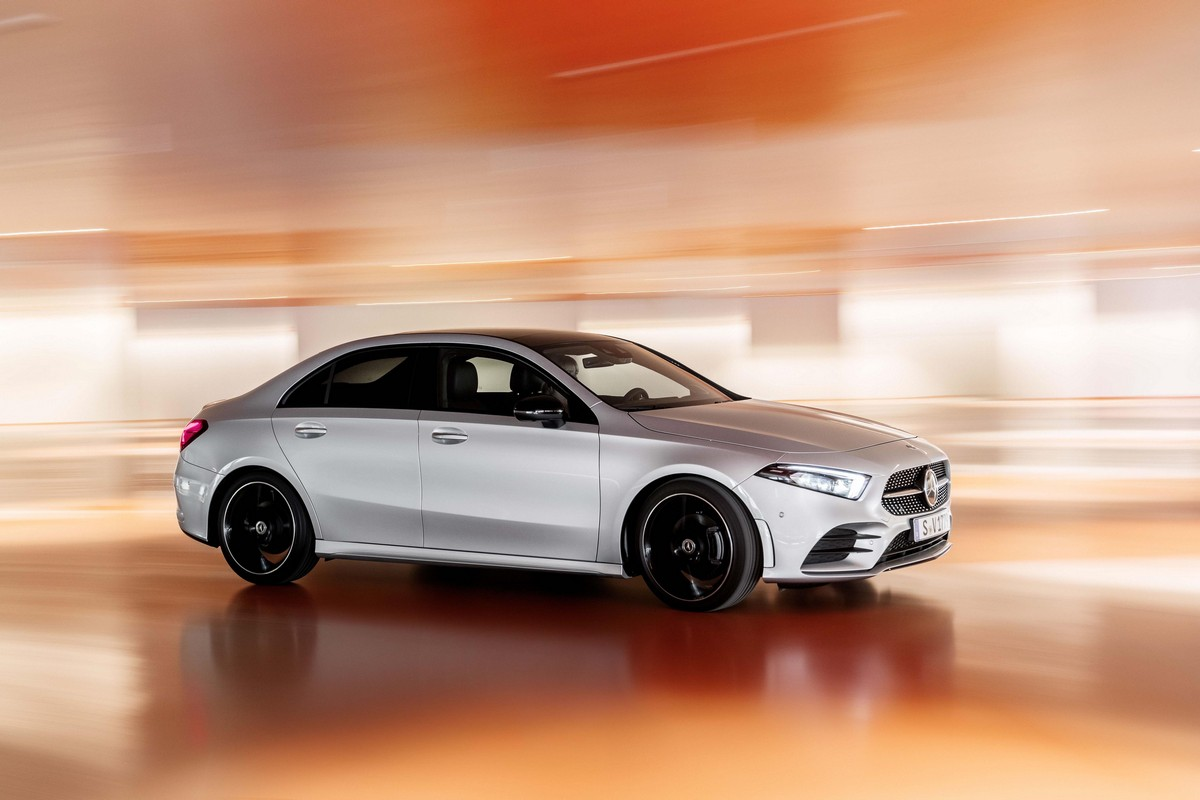 2020 mercedes a class saloon priced from 30 916 eur. Black Bedroom Furniture Sets. Home Design Ideas