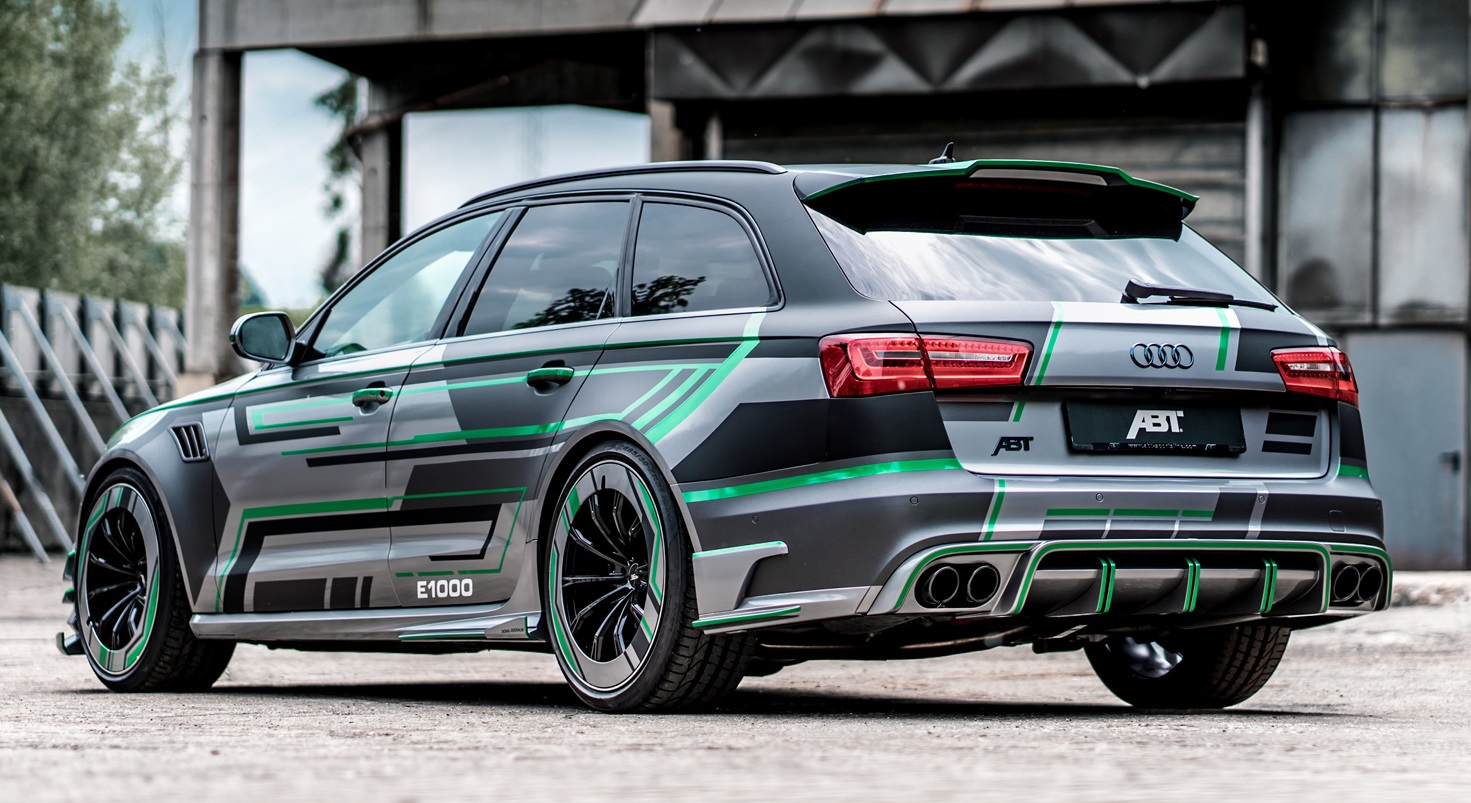 tuning goes electric abt audi rs6 e concept. Black Bedroom Furniture Sets. Home Design Ideas
