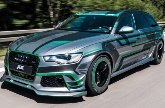 ABT Audi RS6 E Concept front fahrend 5 550x360 at Tuning Goes Electric: ABT Audi RS6 E Concept