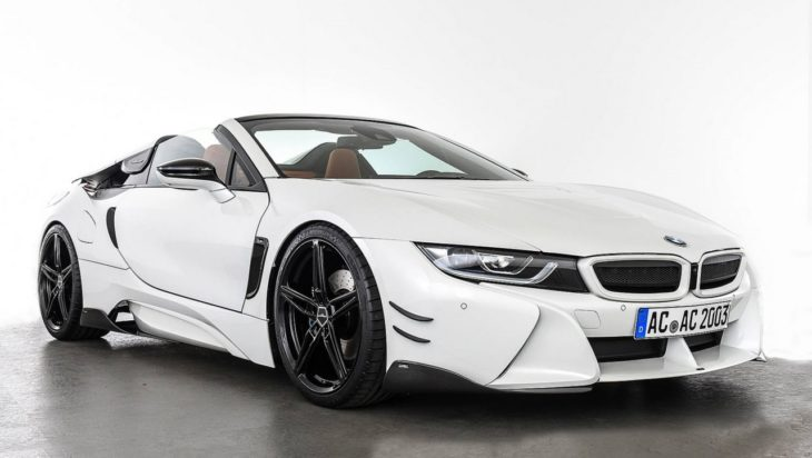 AC Schnitzer BMW i8 Roadster 1 730x412 at AC Schnitzer BMW i8 Roadster Styling Kit Revealed