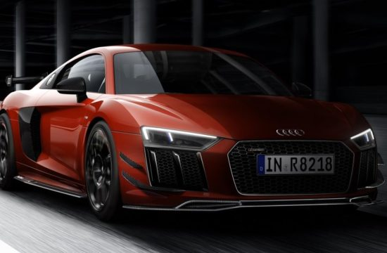 Audi R8 V10 Plus with Performance Parts 1 550x360 at Audi R8 V10 Plus with Performance Parts Is a £176,560 Dream Car