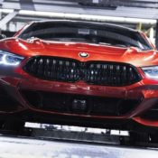 BMW 8 Series factory 3 175x175 at 2019 BMW 8 Series Looks Hot on Production Line