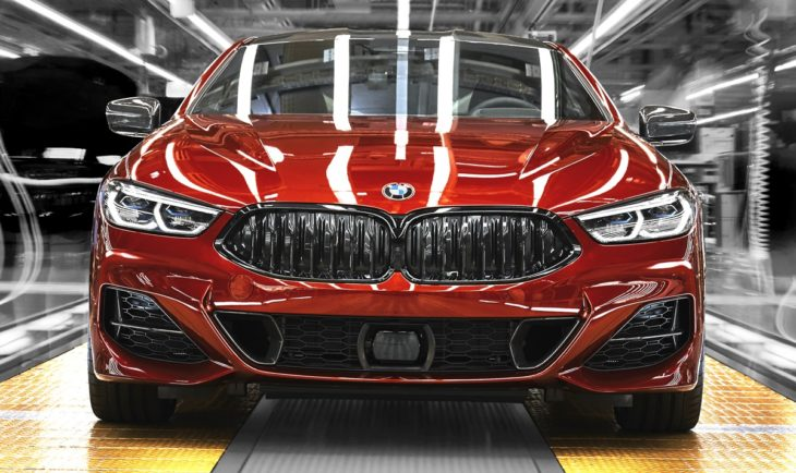 BMW 8 Series factory 4 730x434 at 2019 BMW 8 Series Looks Hot on Production Line