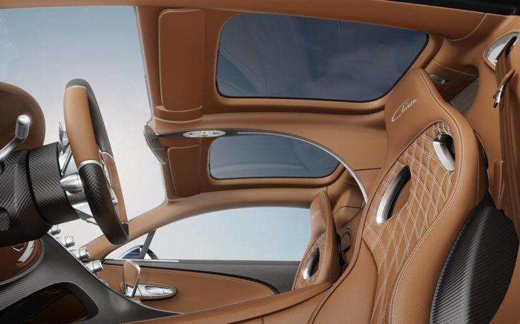 Bugatti Chiron Sky View 2 730x456 at Bugatti Chiron Gets Sky View Glass Roof Option