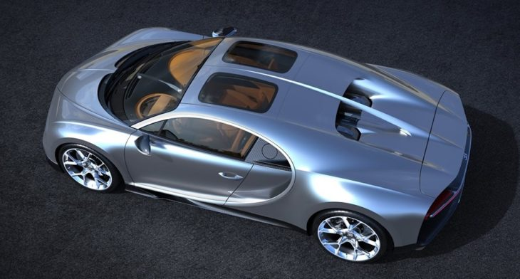 Bugatti Chiron Sky View 4 730x392 at Bugatti Chiron Gets Sky View Glass Roof Option