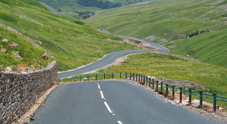 Butter Tubs Pass 1 730x401 at British B Roads   Gods Gift to Motorists