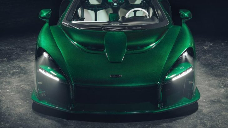 Emerald Green McLaren Senna 1 730x409 at Emerald Green McLaren Senna Delivered to Michael Fux in NYC