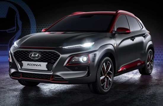 Hyundai Kona Iron Man Edition 1 550x360 at Hyundai Kona Iron Man Edition Debuts at Comic Con 2018