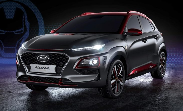 Hyundai Kona Iron Man Edition 1 730x441 at Hyundai Kona Iron Man Edition Debuts at Comic Con 2018