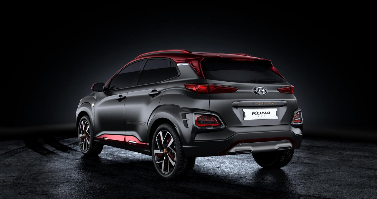 hyundai kona iron man edition debuts at comic con 2018. Black Bedroom Furniture Sets. Home Design Ideas