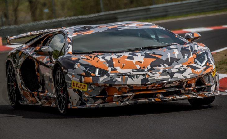 Lamborghini Aventador SVJ Nurburgring 1 730x448 at Lamborghini Aventador SVJ Nurburgring Record: 6:44.9