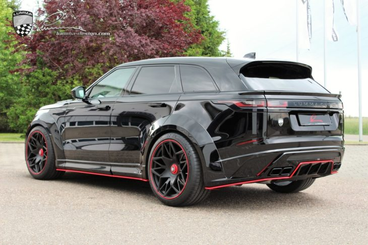 Lumma Velar 3 730x487 at Lumma Range Rover Velar Wide Body Is Simply Awesome