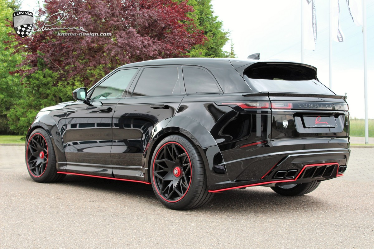 Lumma Range Rover Velar Wide Body Is Simply Awesome