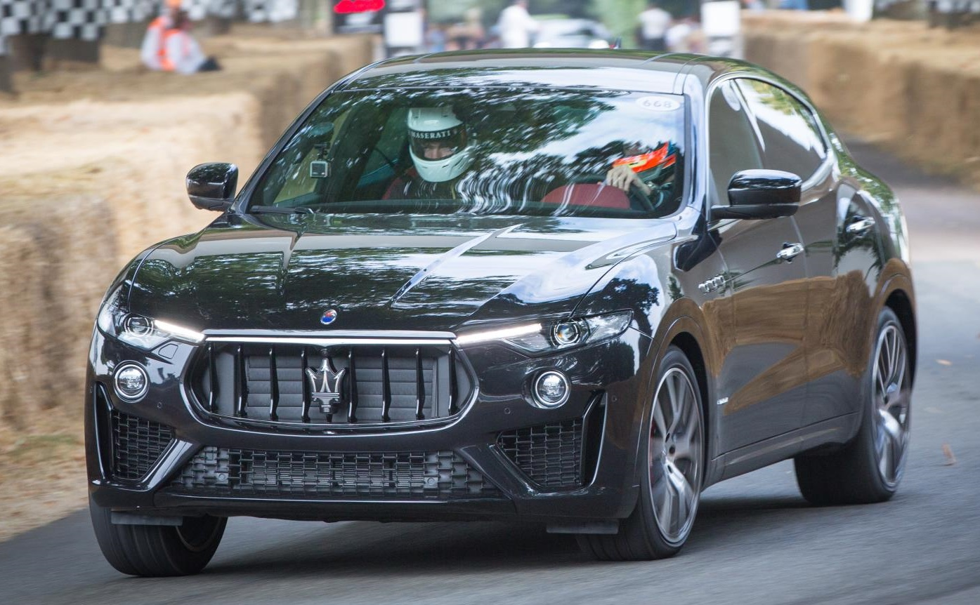 "Mike Biscoe, General Manager, Maserati GB commented: ""We are pleased to be  able to now offer the 350hp petrol engine on the Maserati Levante, ..."