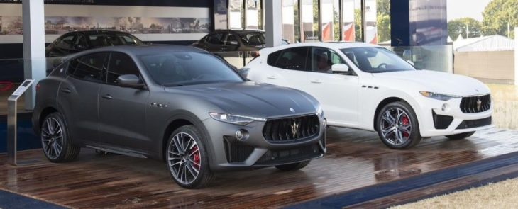 Maserati Levante Trofeo and Levante GTS Maserati at Goodwood Festival of Speed 730x295 at 2019 Maserati Levante GTS Unveiled with V8 Power