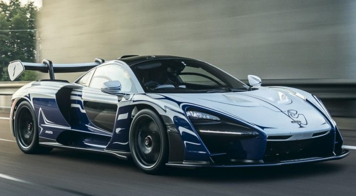 McLaren Senna 001 1 730x403 at McLaren Senna 001 Owner Gives it a Proper Welcome