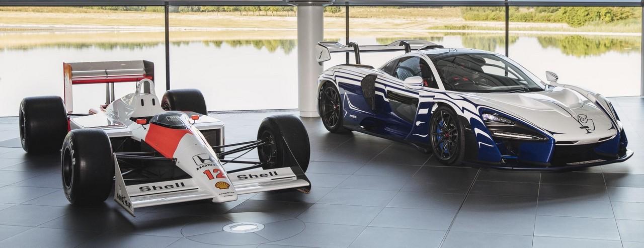 Mclaren Senna 001 Owner Gives It A Proper Welcome
