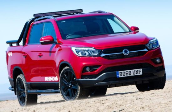 Musso Rhino 5 550x360 at New SsangYong Musso Pickup Launches in UK in Saracen, Rhino, & Rebel Trims