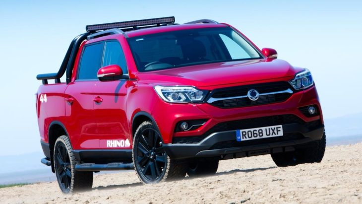 Musso Rhino 5 730x411 at New SsangYong Musso Pickup Launches in UK in Saracen, Rhino, & Rebel Trims