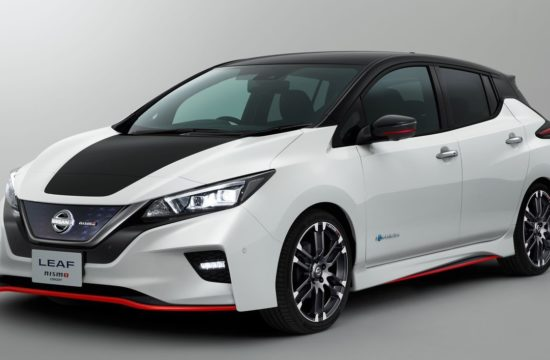 Nissan LEAF NISMO 1 550x360 at Nissan LEAF NISMO Goes on Sale in Japan
