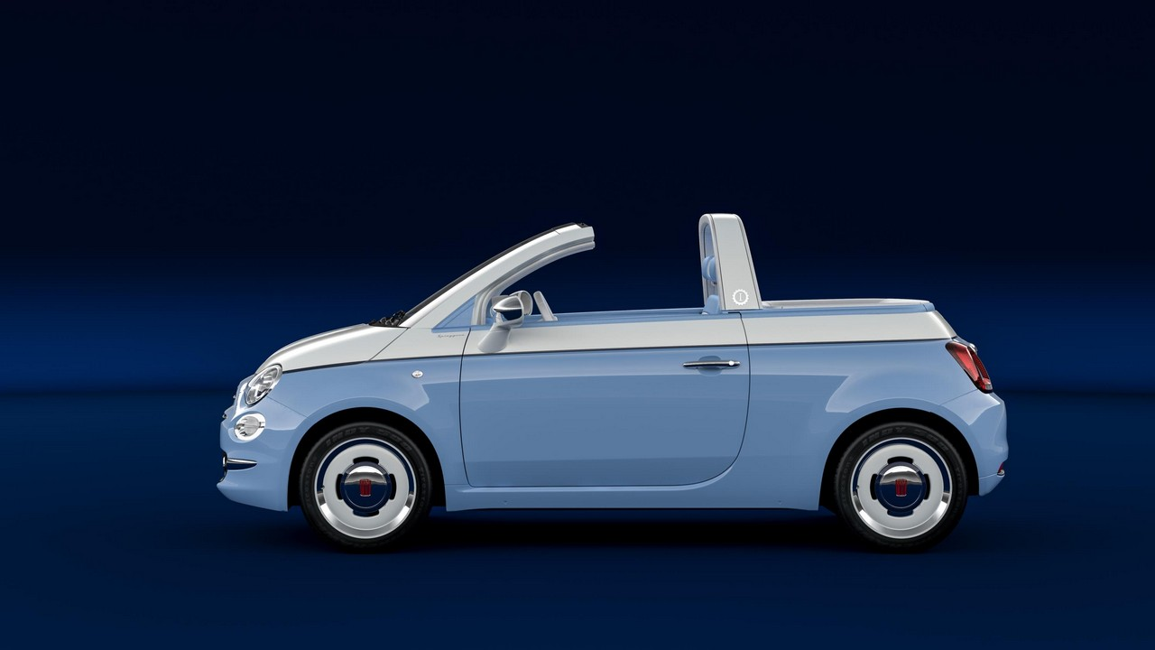 Fiat 500 Spiaggina 58 Is A Birthday Gift For The Cinquecento