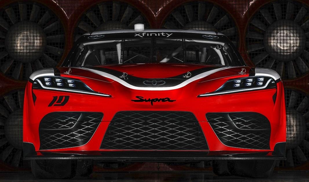 New Toyota Supra Nascar Unveiled For 2019 Xfinity Series