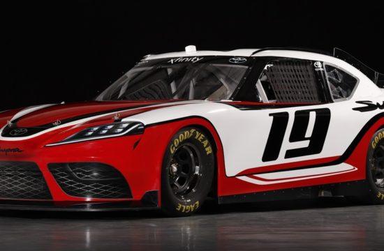 Toyota Supra NASCAR 3 550x360 at New Toyota Supra NASCAR Unveiled for 2019 Xfinity Series