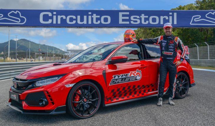 Type R Estoril Tiago Car 1 730x428 at 2018 Honda Civic Type R Sets FWD Lap Record at Estoril