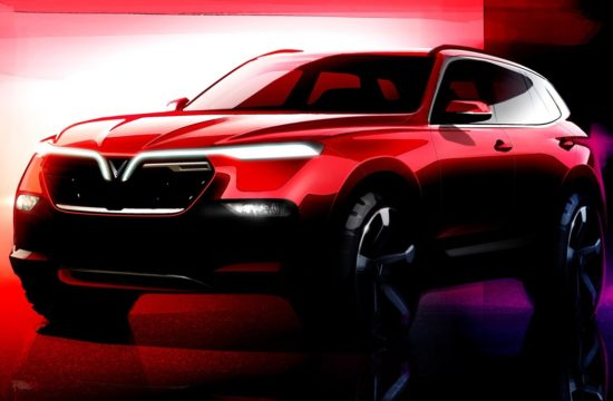 VINFAST SUV render 1 550x360 at Vietnam to Enter the Auto World with VinFast Sedan & SUV