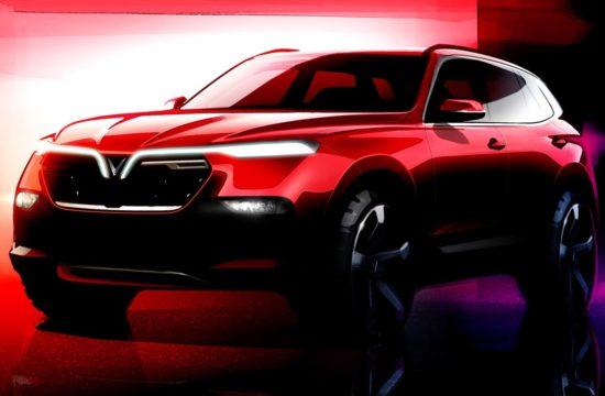 VINFAST SUV render 1 550x360 at Vietnam to Enter the Auto World with VinFast Sedan & SUV