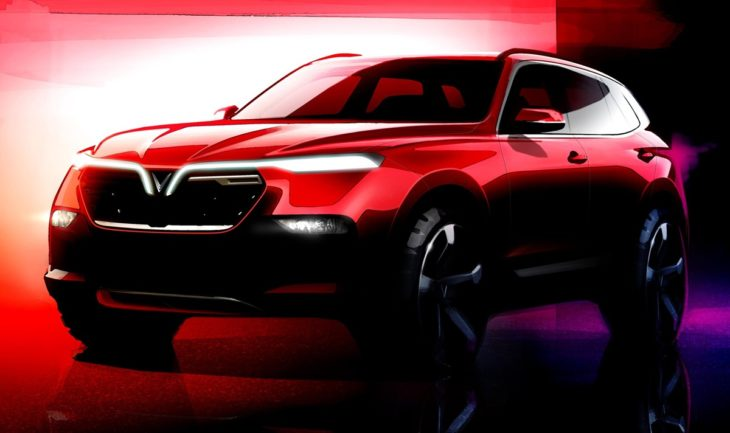VINFAST SUV render 1 730x433 at Vietnam to Enter the Auto World with VinFast Sedan & SUV