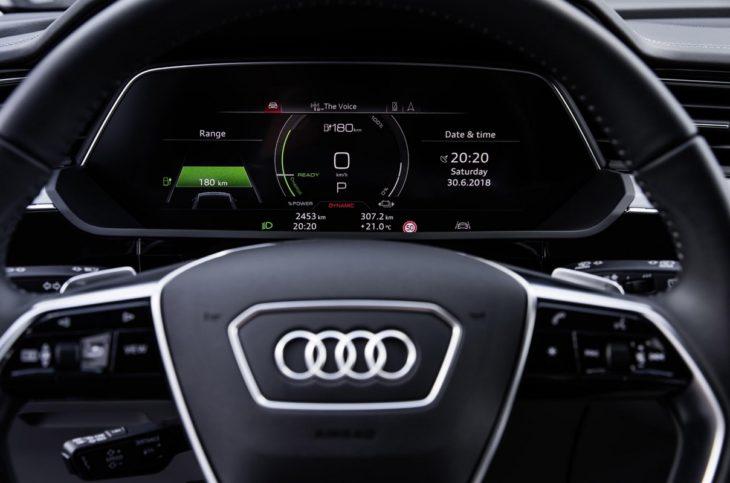 audi e tron interior 9 730x483 at Audi e tron Prototype Interior Pushes Digital Boundaries