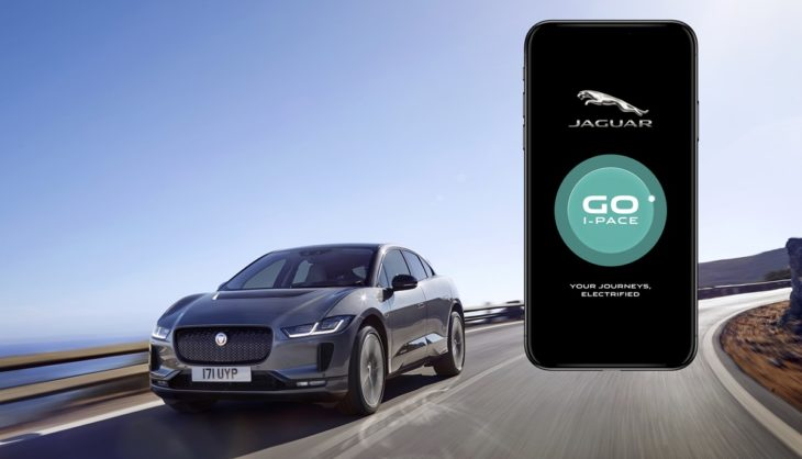 jagipace19mygoipaceapp11071801 730x418 at Of Course Jaguar I Pace Has its Own App
