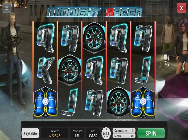 midnight racer at The Best Car Themed Slots For Motorheads