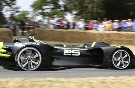 robocar goodwood 2 550x360 at History Made: First Ever Driverless Run of Goodwood Hill by Robocar