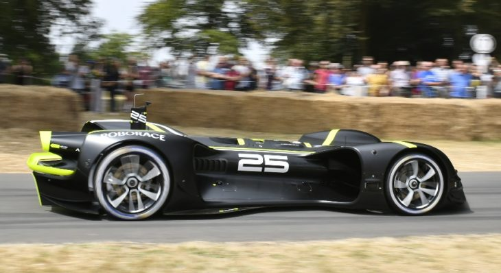 robocar goodwood 2 730x398 at History Made: First Ever Driverless Run of Goodwood Hill by Robocar