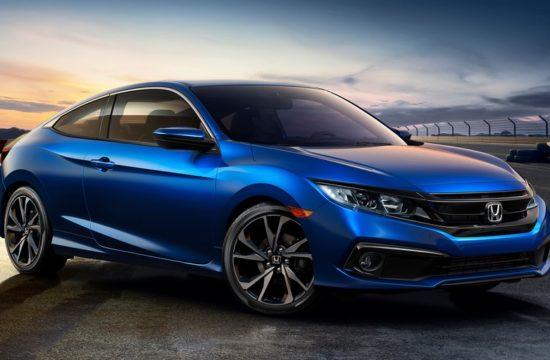 01   2019 Honda Civic Coupe Sport 550x360 at 2019 Honda Civic Sedan and Coupe Get New Sport Trim