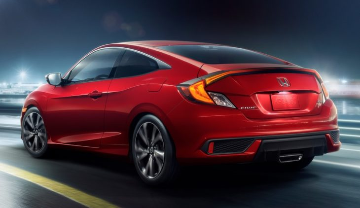 02   2019 Honda Civic Coupe Sport 730x422 at 2019 Honda Civic Sedan and Coupe Get New Sport Trim