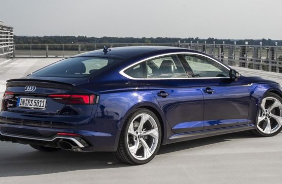 2019 Audi RS5 Sportback 1 550x360 at 2019 Audi RS5 Sportback Priced from $74,200 in U.S.