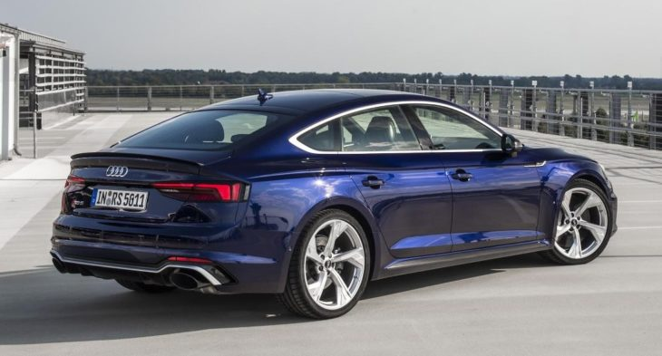 2019 Audi RS5 Sportback 1 730x393 at 2019 Audi RS5 Sportback Priced from $74,200 in U.S.