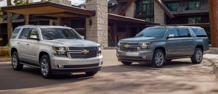 2019 Chevrolet Tahoe Premier Plus and Suburban Premier Plus special editions 730x315 at 2019 Chevrolet Tahoe and Suburban Premier Plus Special Editions