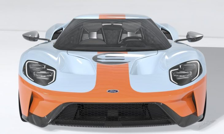 2019 Ford GT Heritage Edition 1 730x437 at 2019 Ford GT Heritage Edition in Gulf Livery