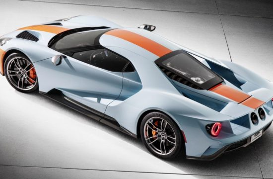2019 Ford GT Heritage Edition 2 550x360 at 2019 Ford GT Heritage Edition in Gulf Livery