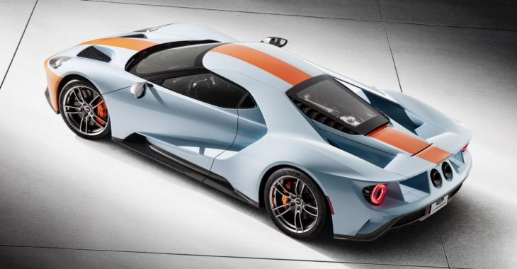 2019 Ford GT Heritage Edition 2 730x380 at 2019 Ford GT Heritage Edition in Gulf Livery